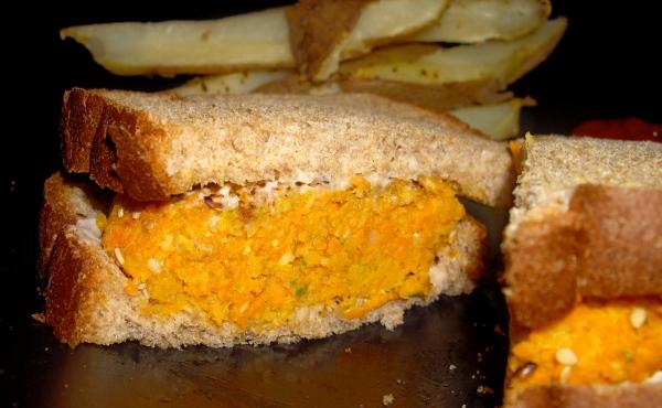 carrot burger