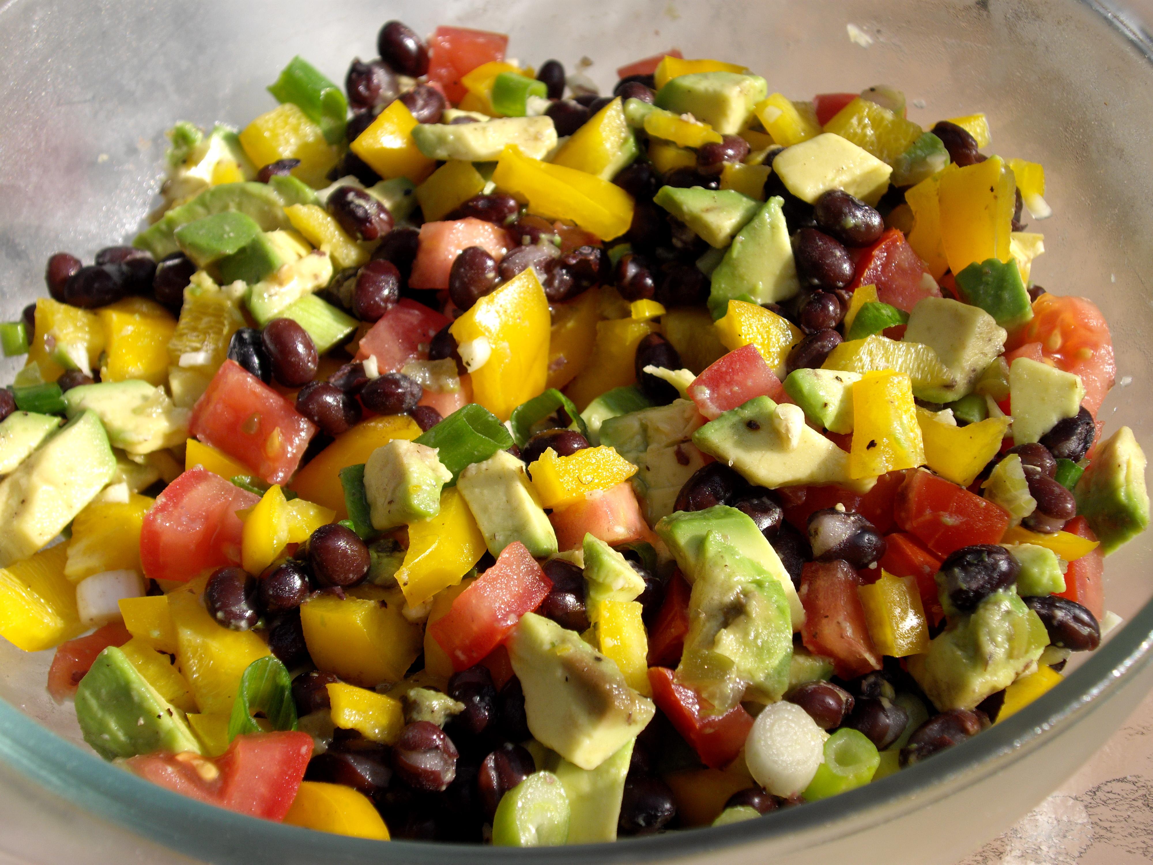 Guacamole Salad Recipe — Dishmaps