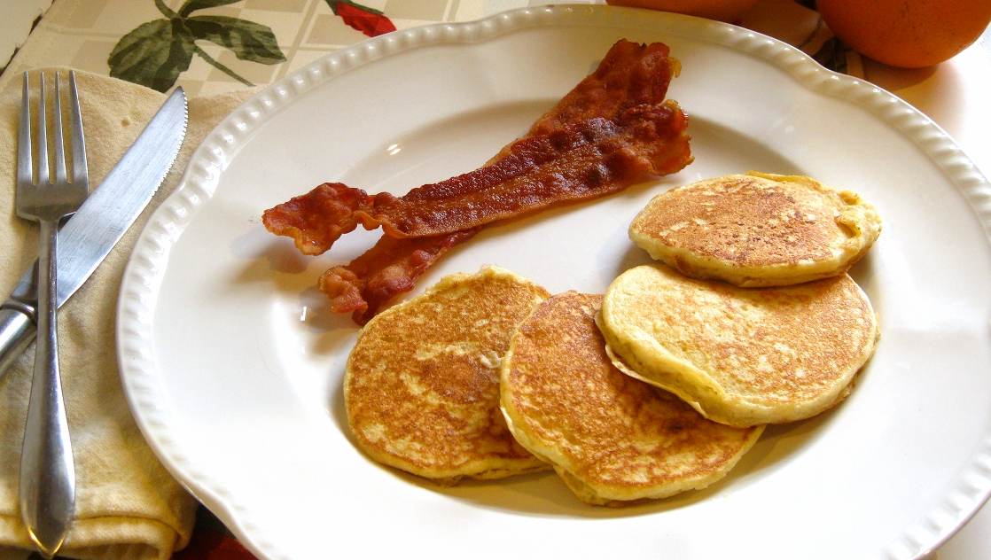 Whole Wheat Orange Ricotta Pancakes